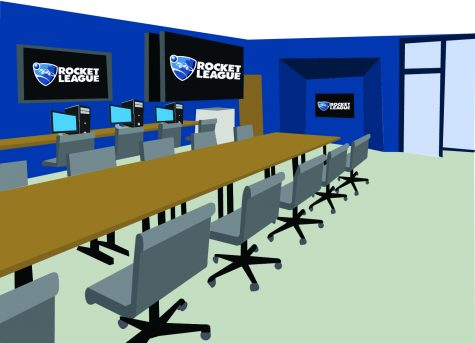 Esports room to open on York Hill campus