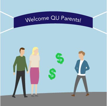 Quinnipiac charges $50-100 for parents and alumni weekend