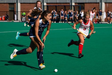 The Quinnipiac field hockey team won its first game of the season in overtime on Sunday against Yale.