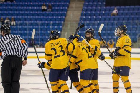 The Quinnipiac womens ice hockey team has started the season 4-0. Photo from