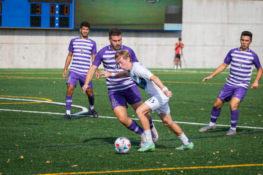 Brage Aasen added his eighth goal of the season which is tied for the most in the MAAC in a losing effort against Niagara.